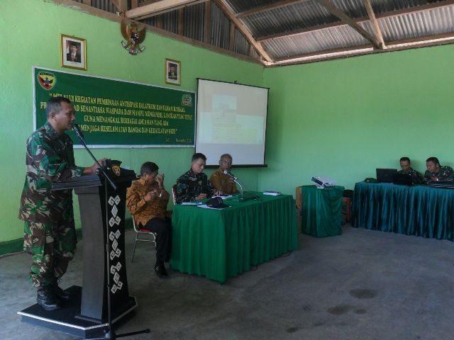 Kodim1621/TTS Laksanakan Pembinaan Antisipasi Balatkom Dan Paham Radikal