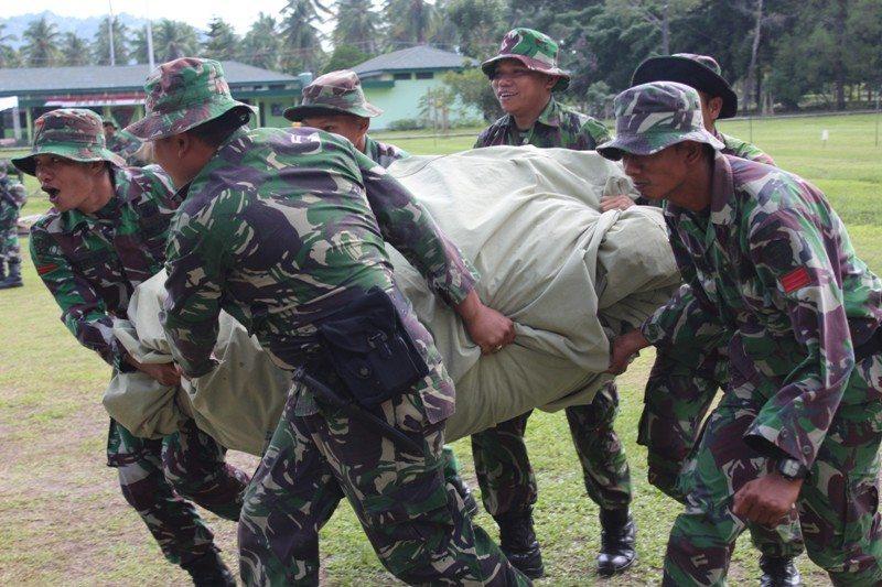 Prajurit Yonif 113/JS Siapkan Latihan Gladi Posko II