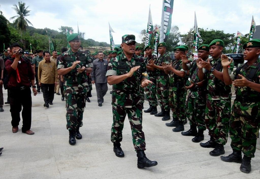 Panglima TNI : Hindari Benturan Dengan Pihak Polri