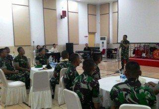 Kasdam Jaya Sambut Kedatangan Kontingen Pleton Tangkas Kodam Jaya