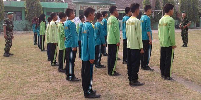 Koramil Gurah, Latihkan Disiplin yang Berkarakter Kebangsaan