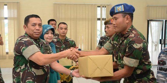 Danrem 031/WB Ucapkan Terima Kasih Kepada Panglima TNI