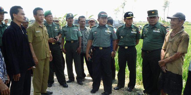 Korem 081/DSJ Laksanakan Wasev Pendampingan Swasembada Pangan