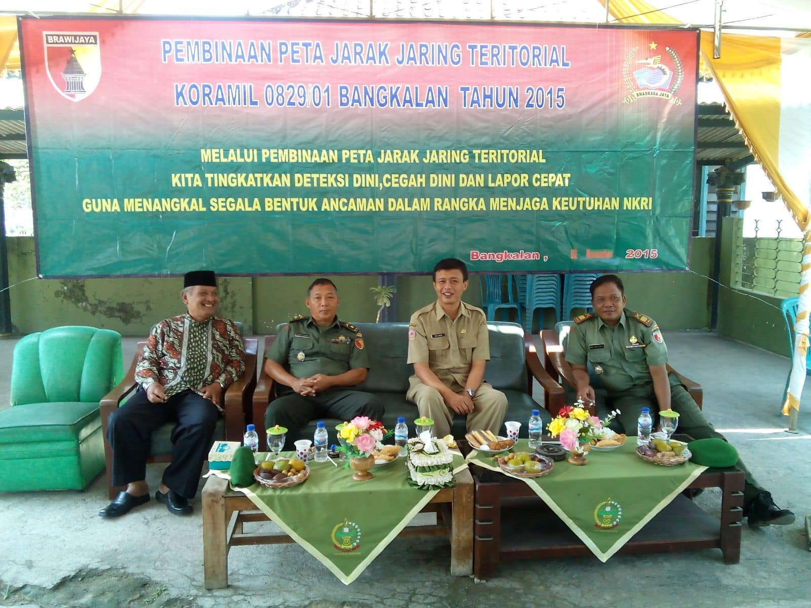 Danramil 0829/01 Kota Bangkalan Ajak Masyarakat Perangi Narkoba