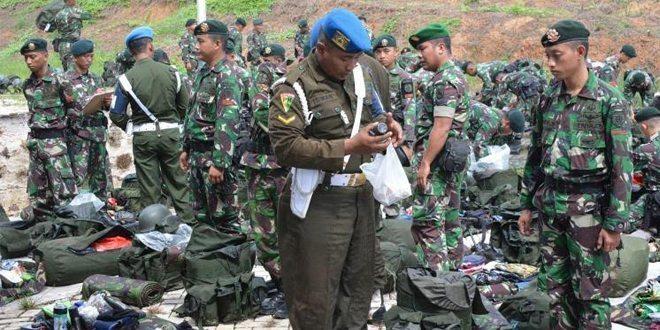 Prajurit Yonif 303 Raider Kostrad Selesai Laksanakan Tugas Pamrahwan Papua Dan Papua Barat