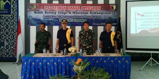 Kodim 0812 Bekerjasama Dengan Lapas Iib Kabupaten Lamongan