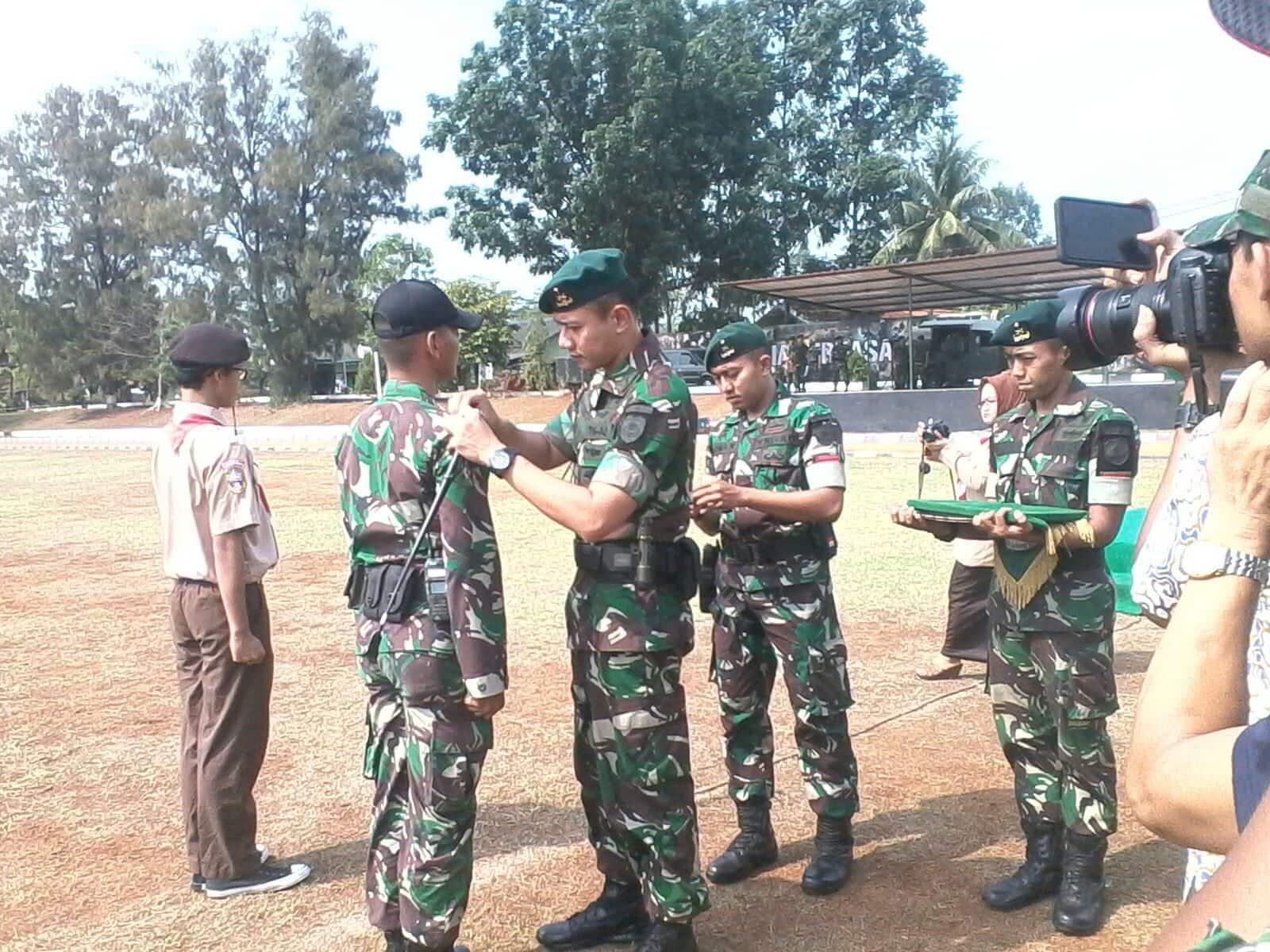 Kegiatan Raimuna dan Bela Negara SMAN 70 Tangerang Di Yonif Mekanis 203/Arya Kamuning