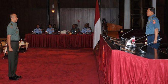 Kasum TNI Buka Rakor Litbang TNI tahun 2015