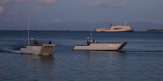 PPRC TNI Hancurkan Musuh di Pulau Morotai