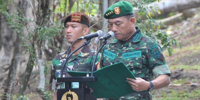 Wisudawan Purnawira Pati TNI AD Adakan Tradisi Di Puncak Tidar Akmil