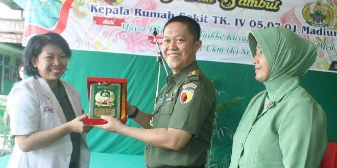 Mayor Ckm (K) dr Setia Dewi Jabat Karumkit Tk IV Madiun