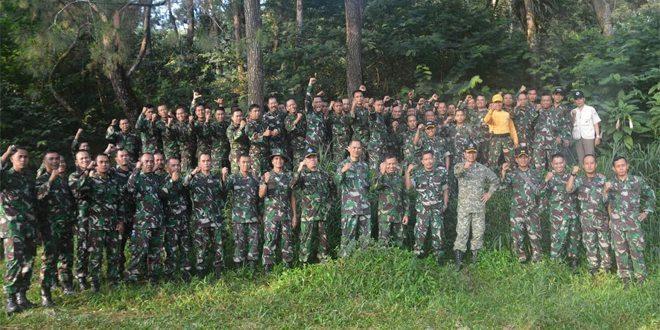 Danrem 061 /SK Pimpin Apel Dansat Di Bumi Perkemahan Sukamantri Bogor