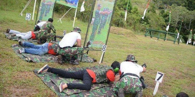 Lomba Tembak Wartawan Se – Papua Memperingati HUT Korem 172/PWY Ke 52