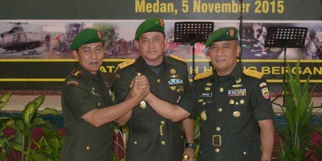 Kasdam I/BB Dan Komandan Korem 032/Wbr Diserahterimakan