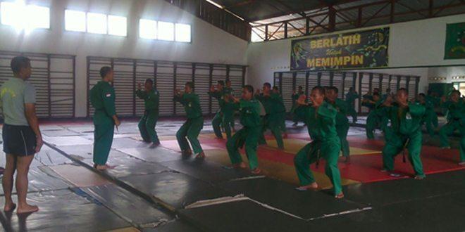 Manfaatkan Waktu Rehat, Ton Tangkas Kodam Jaya Mantapkan Latihan Yongmoodo