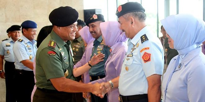 17 Pati TNI Naik Pangkat