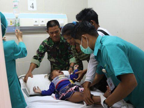Korem 091/Asn Adakan Baksos HUT TNI AD Ke 70