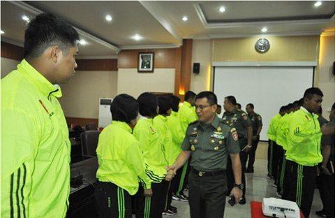 Kodam VI/Mlw Meraih 3 Medali Kejurnas II Yong Moo Do Piala Kasad