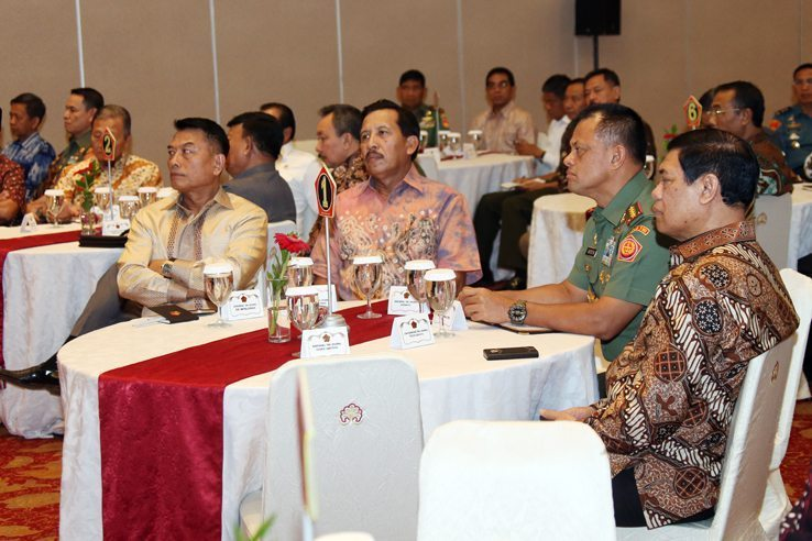 Silahturahmi Panglima TNI dengan Para Mantan Petinggi TNI