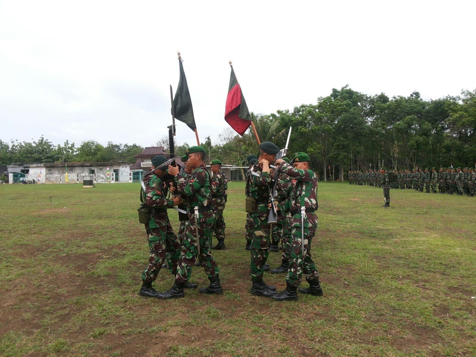 Upacara Pemberangkatan Peleton Beranting Yudha Wastu Pramuka Jaya Tahun 2015