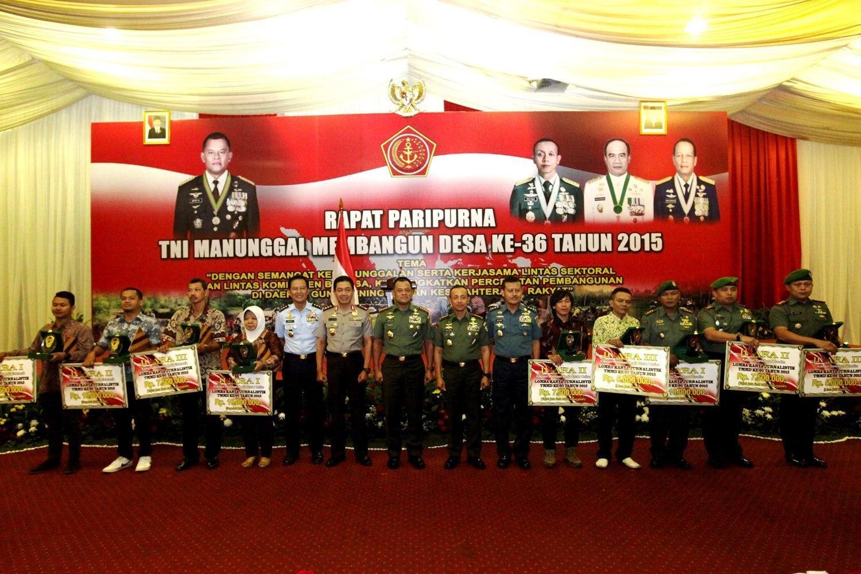 Panglima TNI Buka Rapat Paripurna Tentara Manunggal Membangun Desa