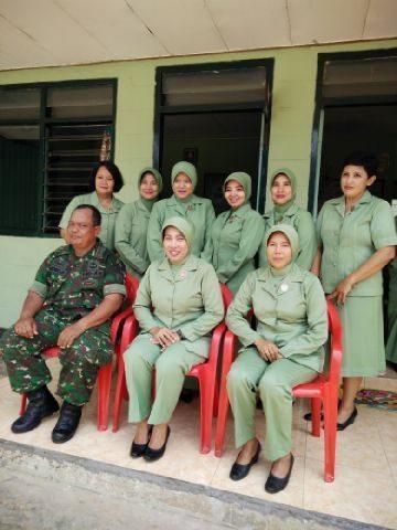 Motivasi Anggota, Ketua Persit Kodim Kunjungi Koramil Geger, Tragah dan Burneh Bangkalan