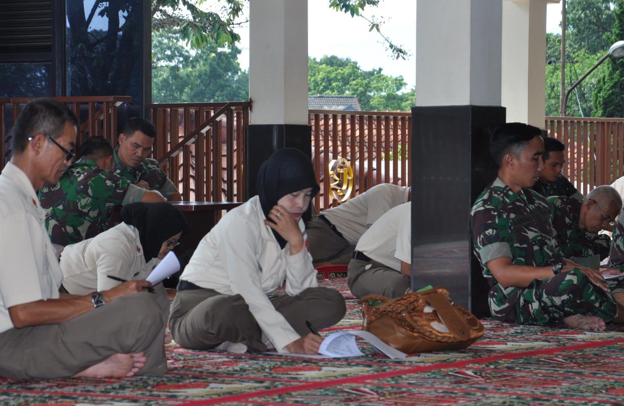 Bintal Denma Kodiklat TNI AD Adakan Seleksi Penerimaan Haji Umroh Har Kasad