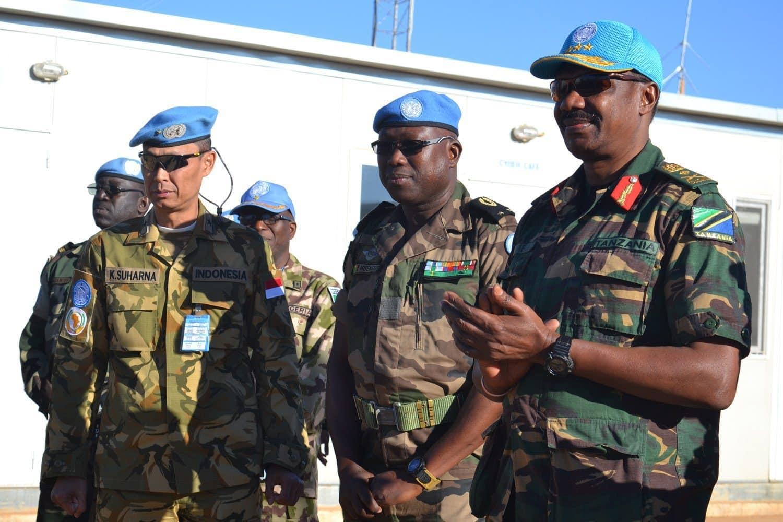 Letjen Paul Mella Perpisahan Dengan Prajurit Garuda di Darfur