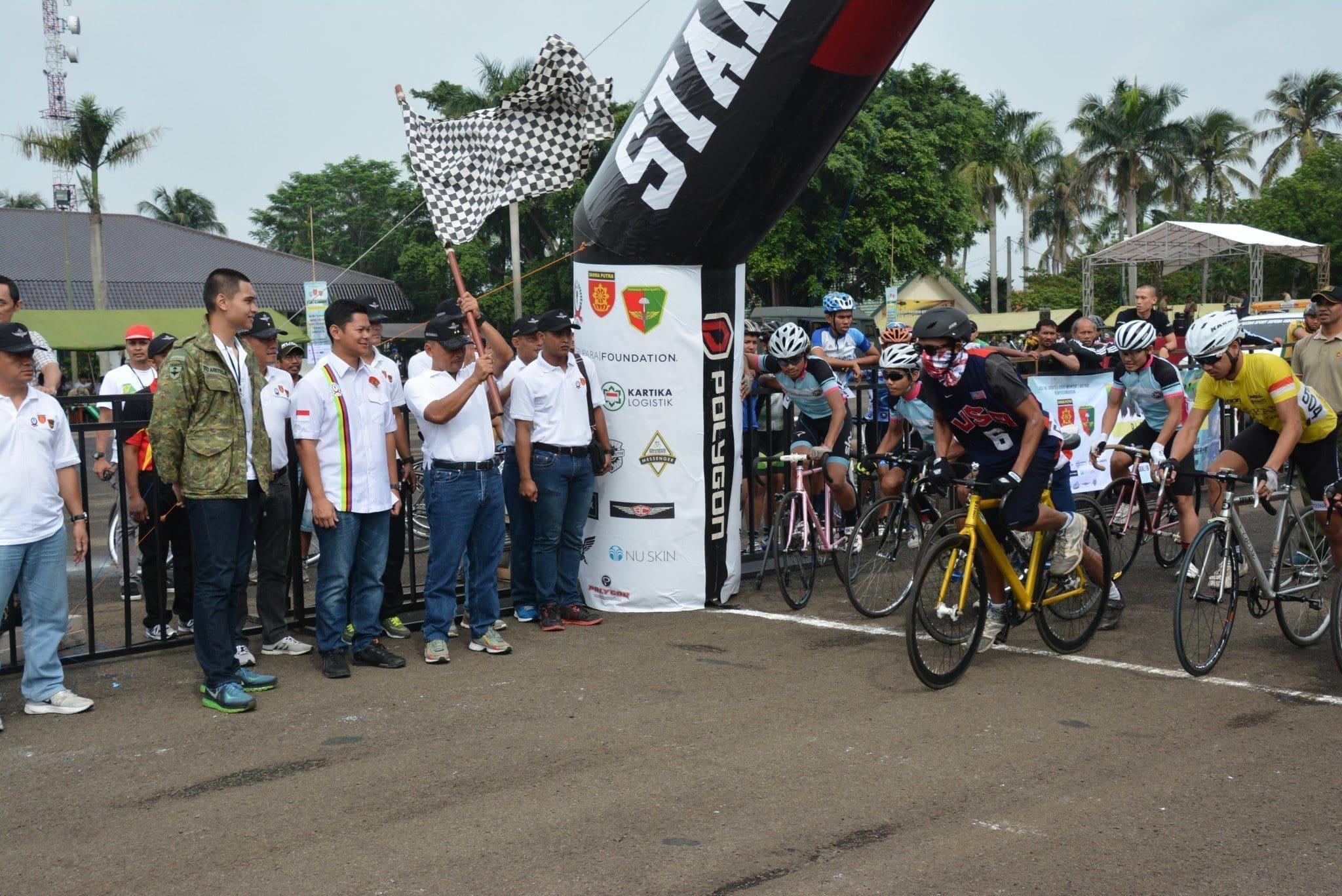 Divif 1 Kostrad Gelar kejuaraan Balap Sepeda
