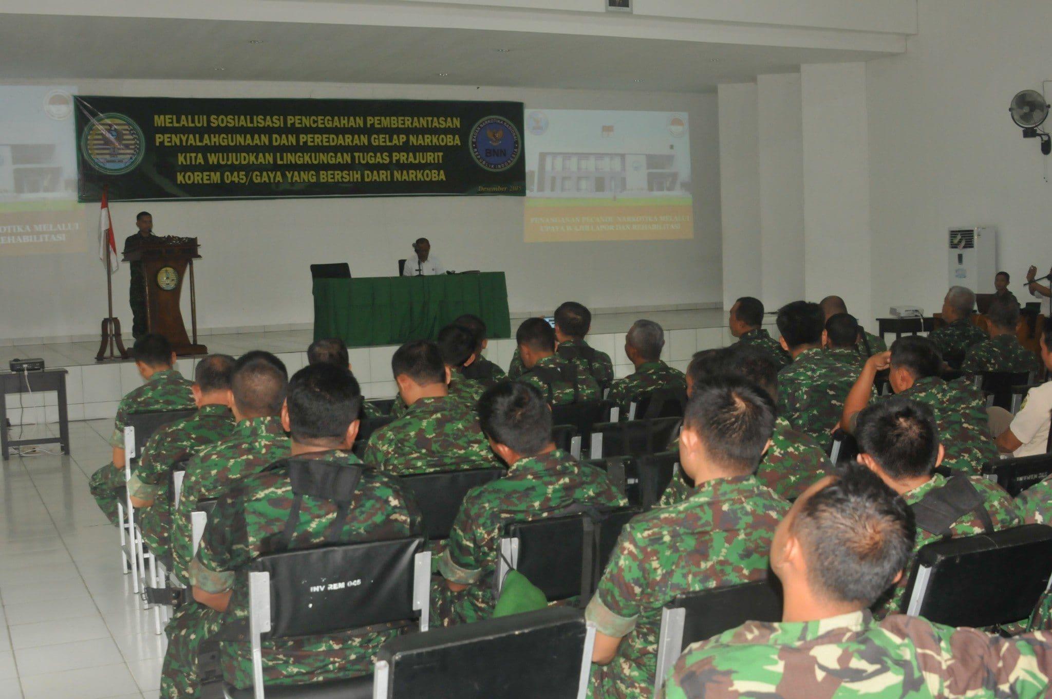 Mayor Hermansyah: Kedepan Pengedar Narkoba Menjadi Target Operasi Militer