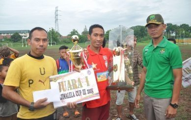 FC Djokam United Raih Juara 1 Kejuaraan Tajimalela Cup III