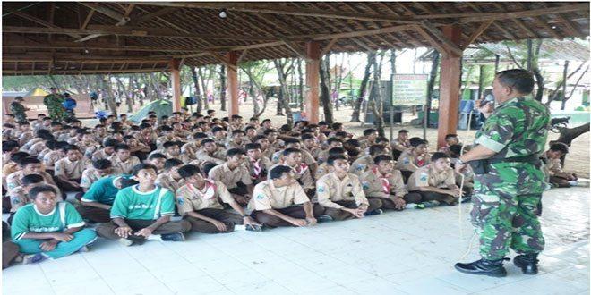 PBB, Disiplin dan Wawasan Kebangsaan Untuk peserta Perkemahan MA Tharbiyatul Tholabah