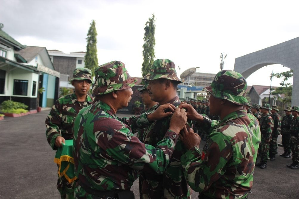 Kasdim 0709/Kebumen Tutup Kegiatan Apel Danramil Babinsa Tersebar 2015