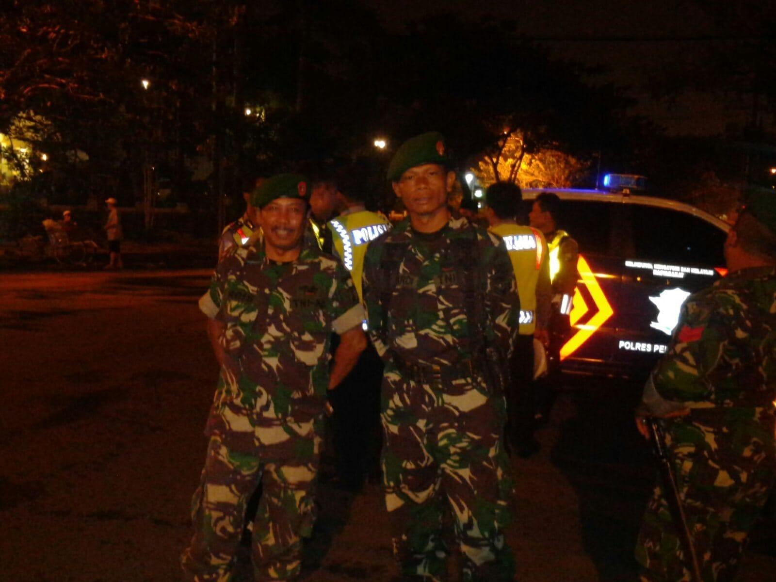 Jelang Pilkada, Karamil Pabean Cantain Kodim SU Intensifkan Patroli Gabungan