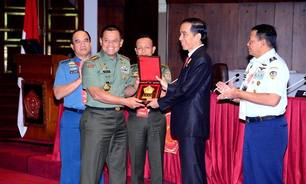 Presiden RI Beri Pengarahan Rapim TNI TA. 2016