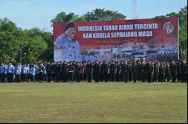 Danrem 102/PJG Pimpin Peringatan Hari Bela Negara Di Kalteng