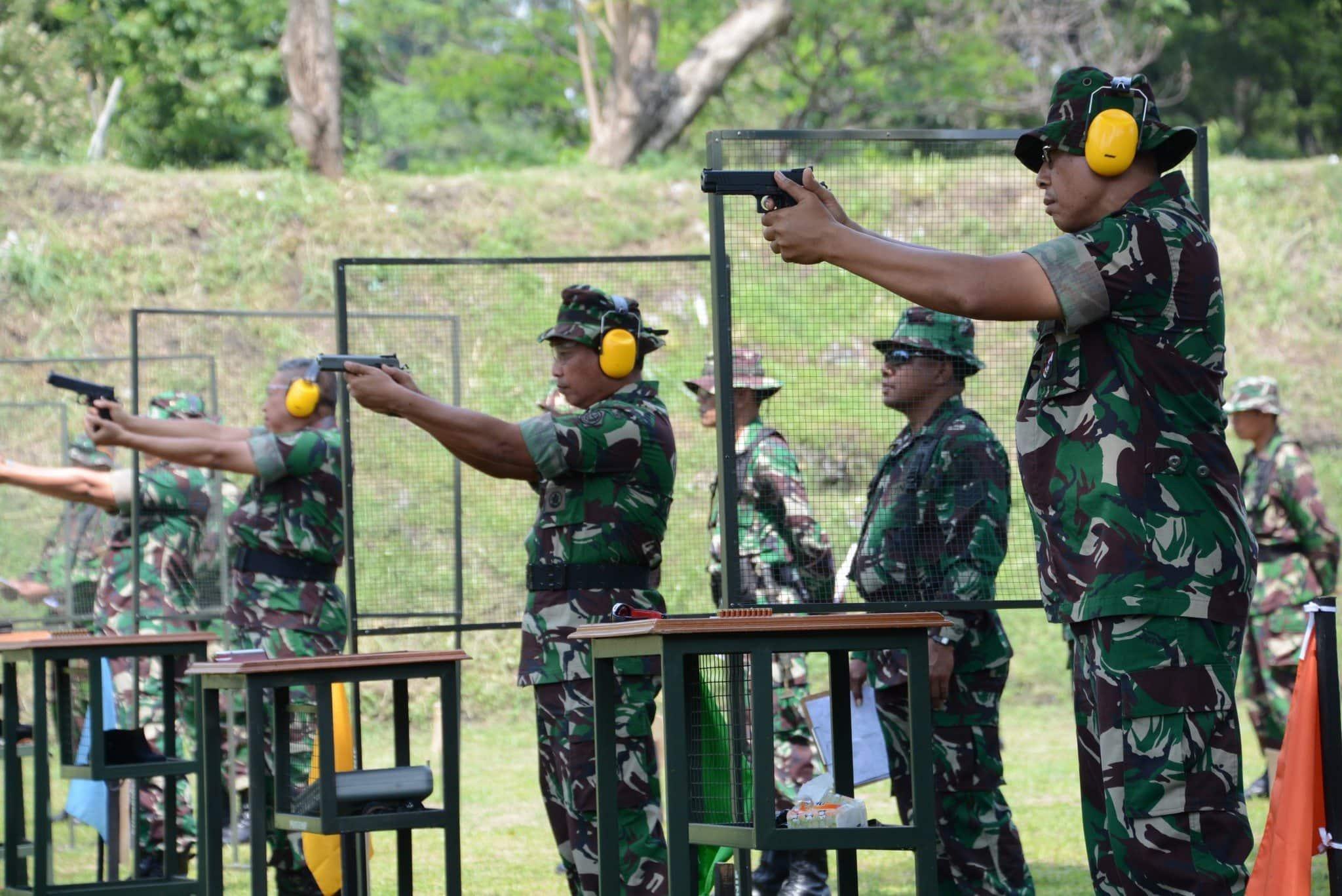 Lomba Tembak Pistol Eksekutif Dalam Rangka Hut Kodiklat Tni Ad Ke-21