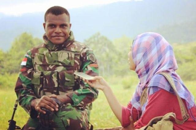 Penjaga Tapal Batas RI-PNG itu Putra Asli Papua