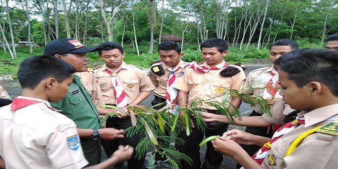Saka Wira Kartika Kodim 0732/Sleman Latihan Survival
