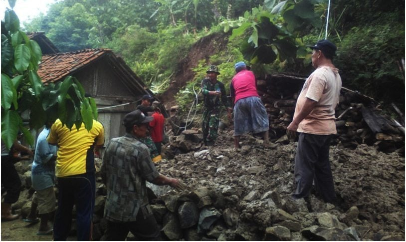 Babinsa Koramil 08/Alian Dirindukan Warga Desa Sawangan