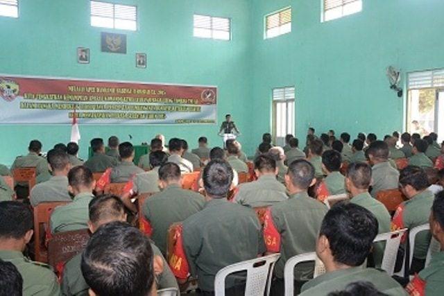Danrem 162/WB Buka Apel Danramil dan Babinsa Di Lombok Barat