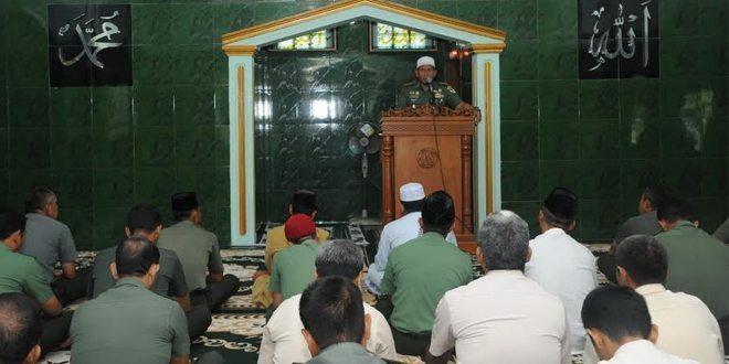 Korem 063/Sgj Peringati Maulud Nabi Muhammad SAW