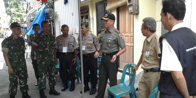 Dandim 0830/SU Pantau Kesiapan Pengamanan Pilkada Serentak