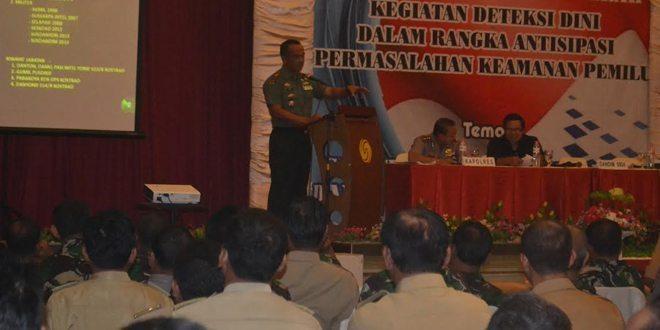 Dandim 0824 & Kapolres Jember Jadi Pembicara Pada Forum Silaturahmi Daerah