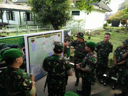 Peleton Beranting Dan Hari Infanteri 2015 Akan Dipusatkan di Sumatera Barat