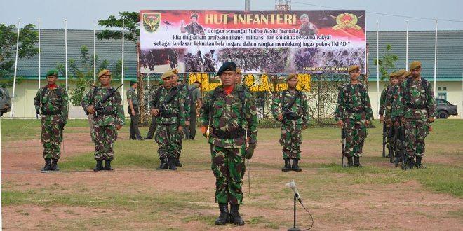 Hari Infanteri TNI AD, Digelar Di Jasdam II/Swj