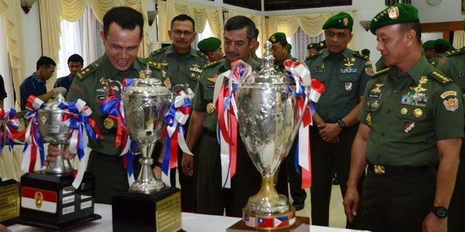 Prestasi Kontingen TNI AD dalam AARM ke 25 Tahun 2015