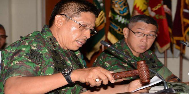 Kodiklat TNI AD Adakan Rakornis Tahun 2015