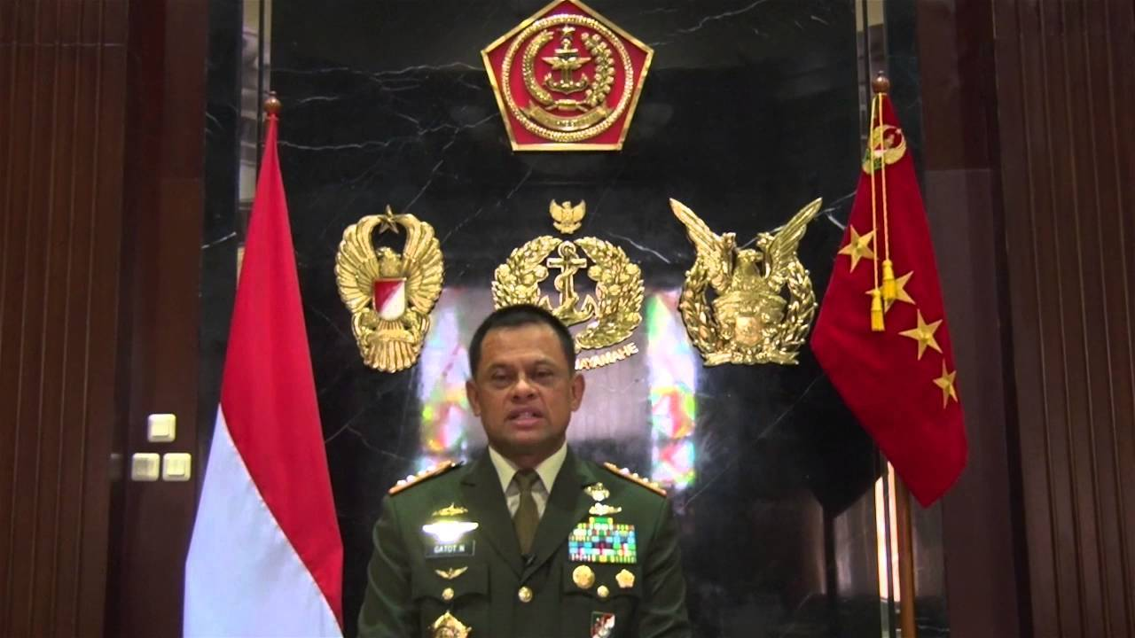Panglima TNI Jenderal TNI Gatot Nurmantyo sampaikan Ucapan Hari Natal 2015 dan Tahun Baru 2016