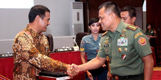 Mentan RI Apresiasi TNI Tingkatkan Ketahanan Pangan